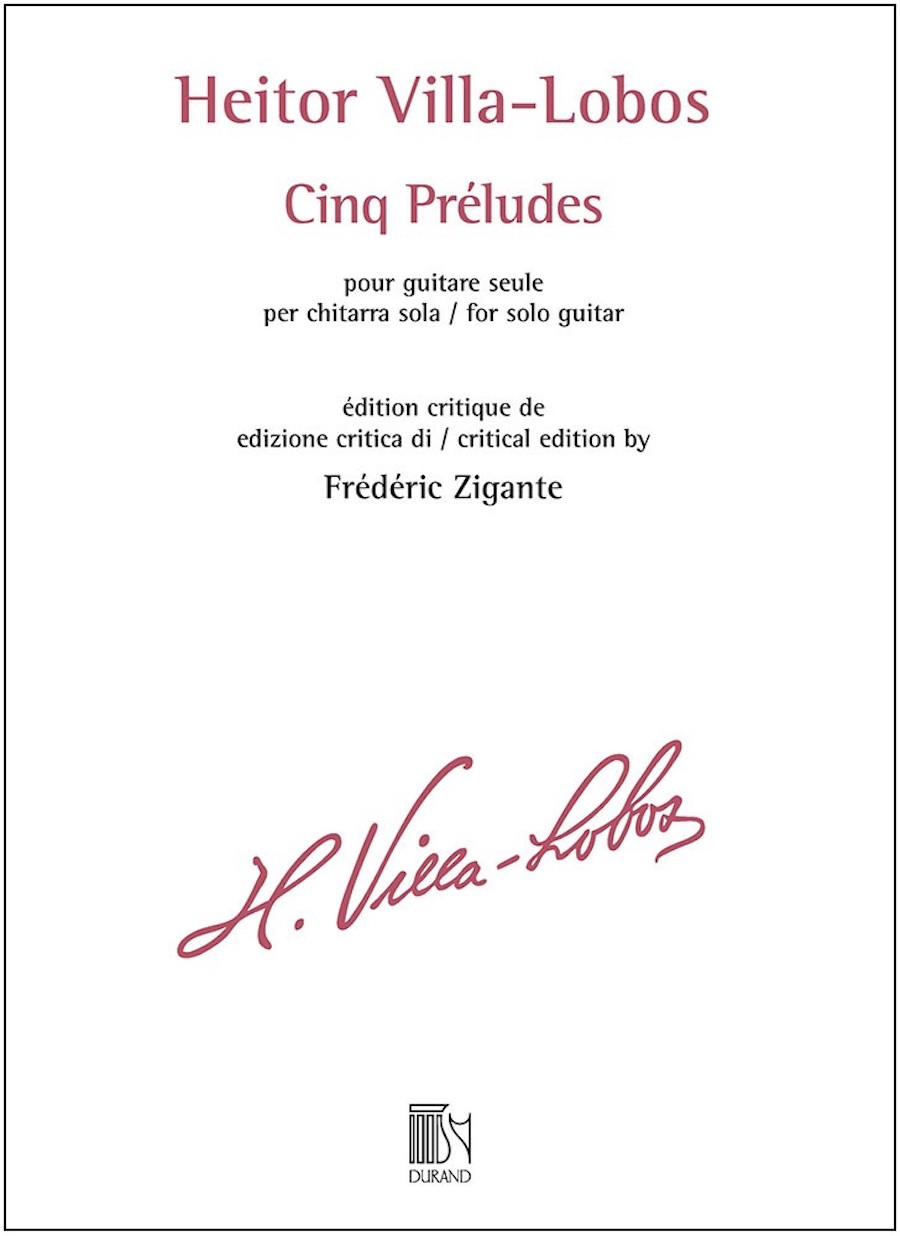 Product Cover for Cinq Préludes for Solo Guitar