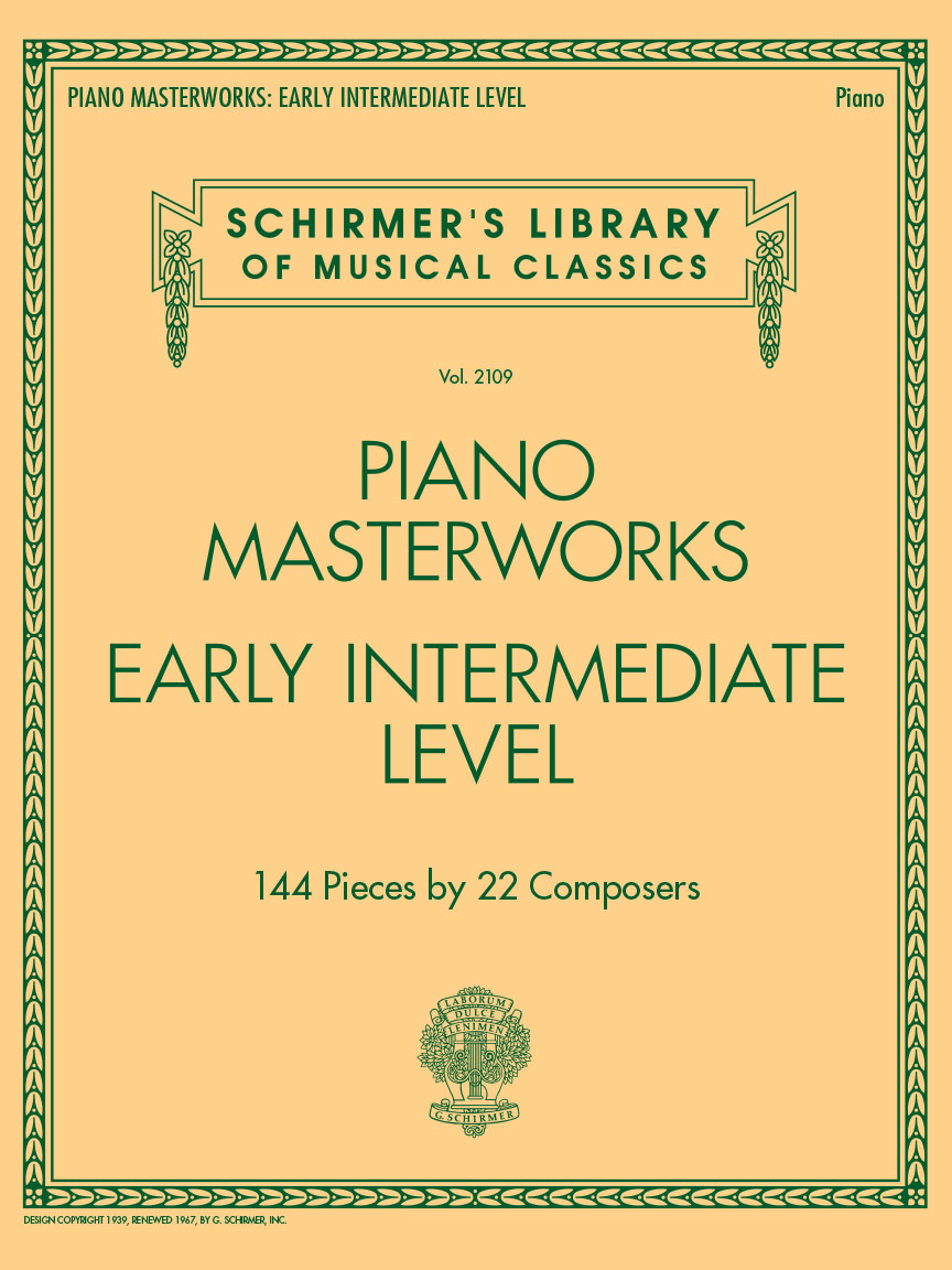 Product Cover for Piano Masterworks – Early Intermediate Level