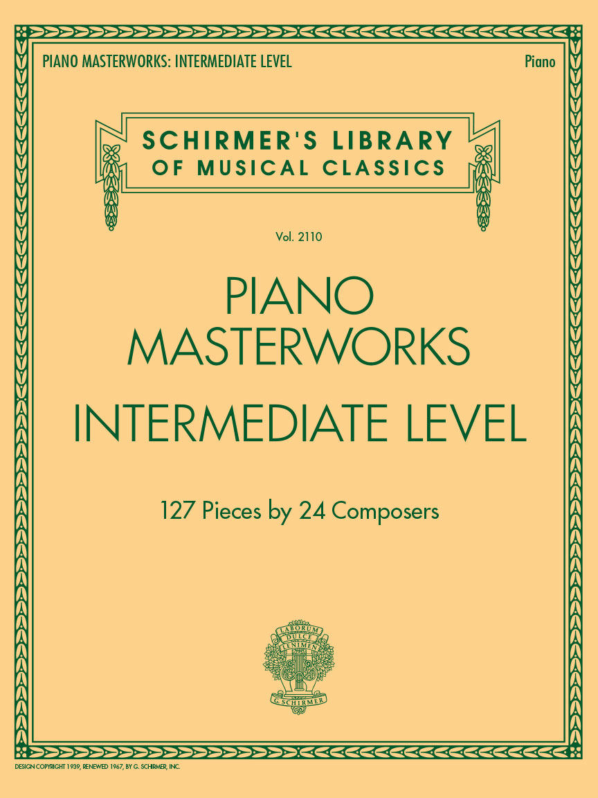 Product Cover for Piano Masterworks – Intermediate Level