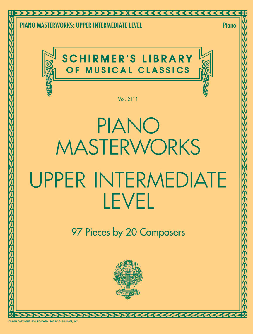 Product Cover for Piano Masterworks - Upper Intermediate Level