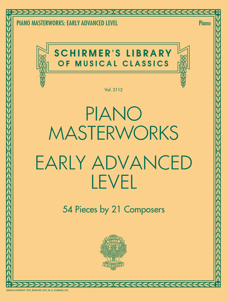 Product Cover for Piano Masterworks - Early Advanced Level
