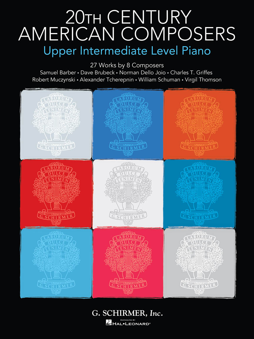 Product Cover for 20th Century American Composers – Upper Intermediate Level Piano