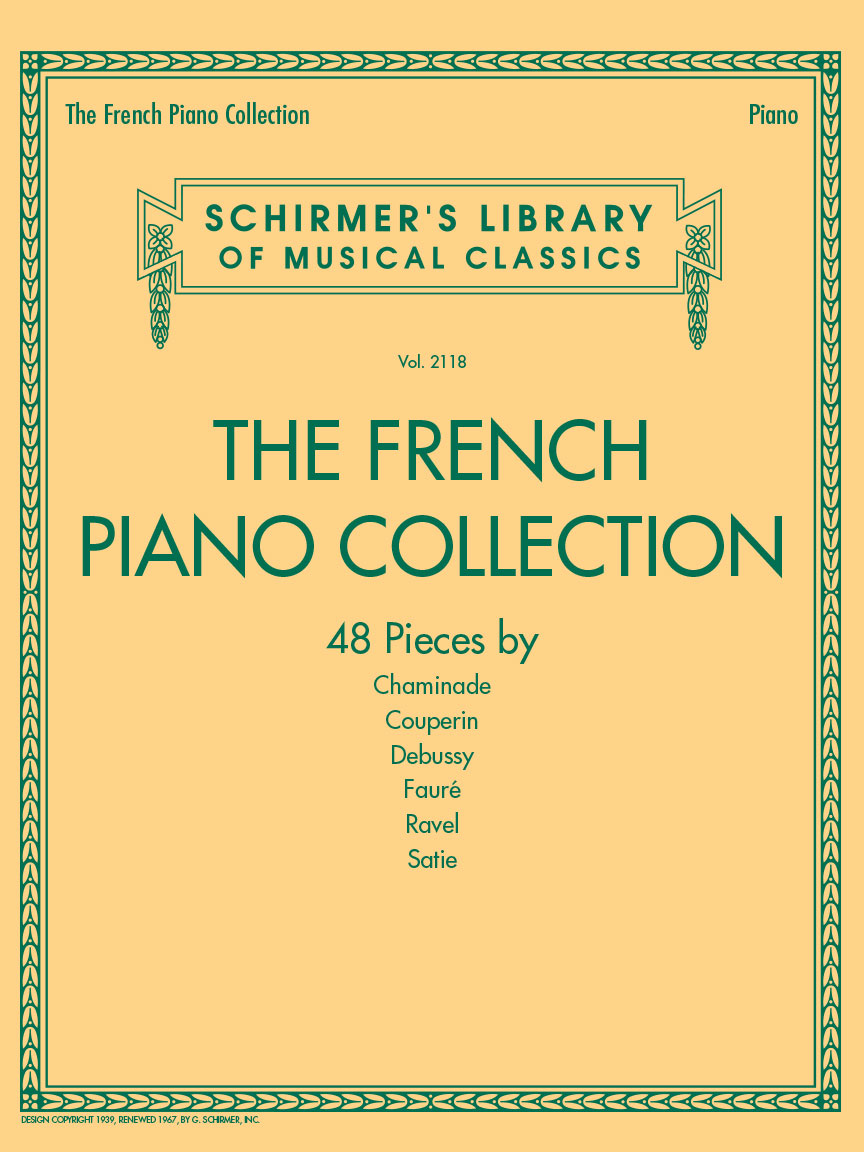 Product Cover for The French Piano Collection – 48 Pieces by Chaminade, Couperin, Debussy, Fauré, Ravel, and Satie