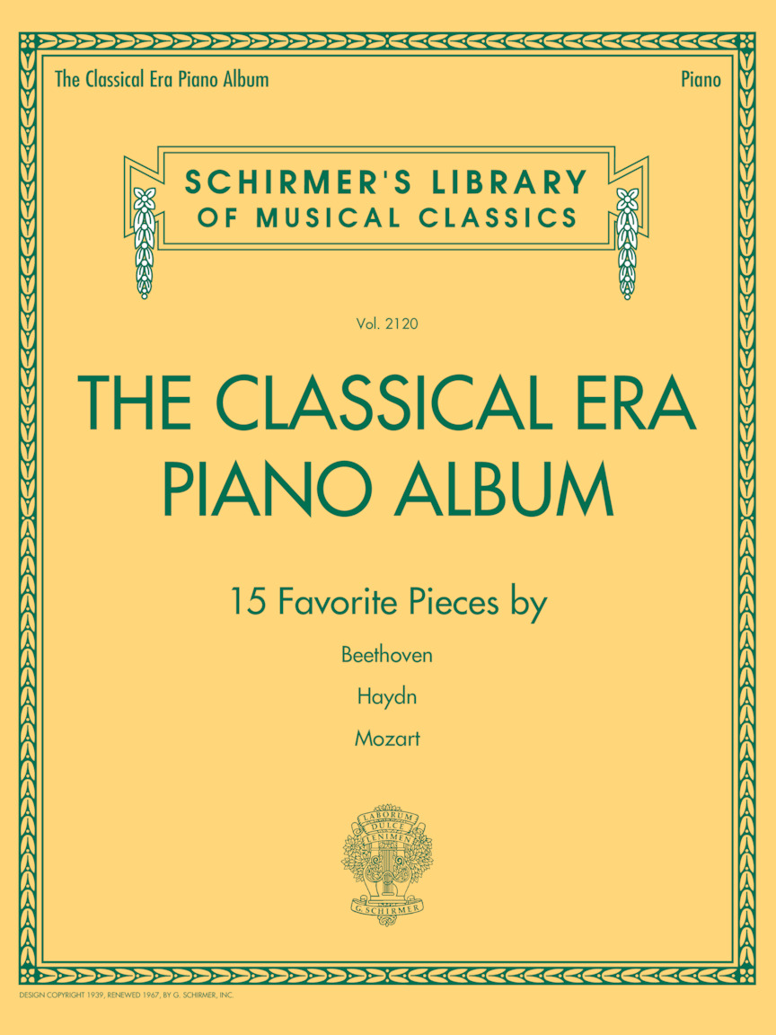 Product Cover for The Classical Era Piano Album