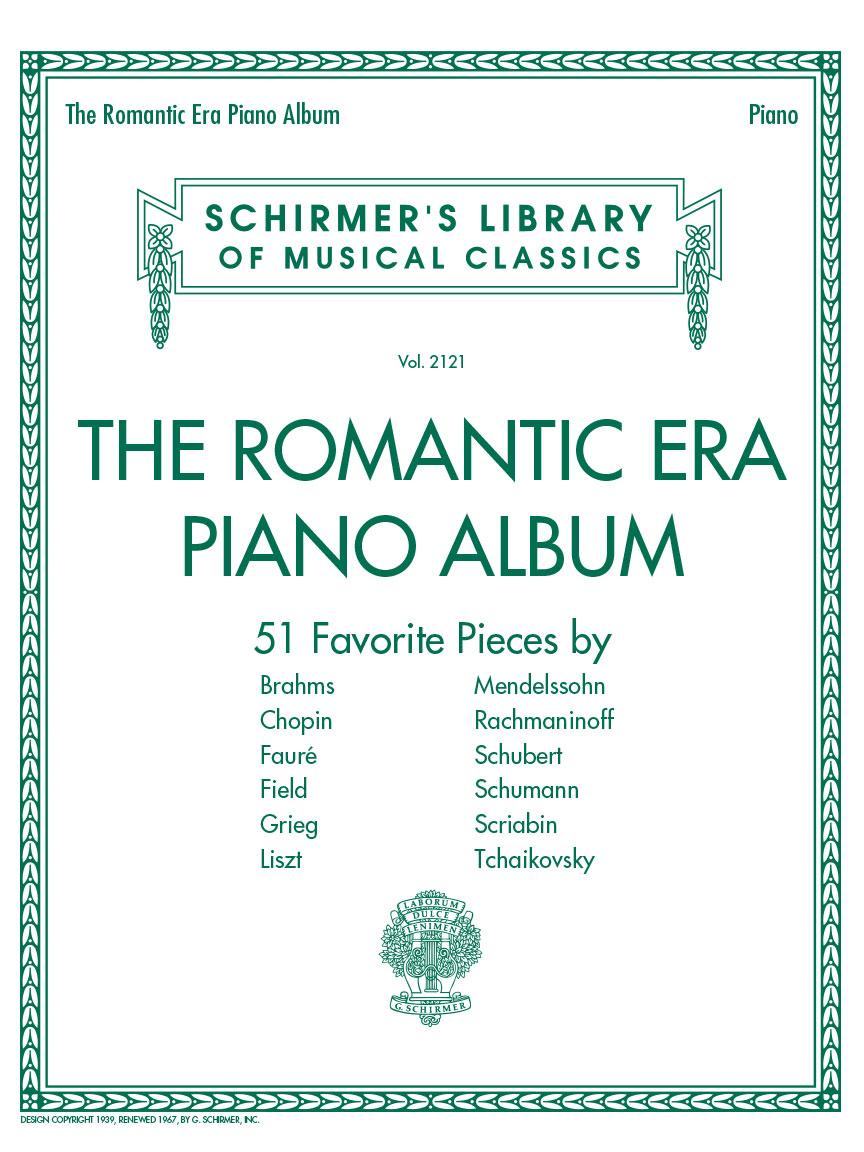 Product Cover for The Romantic Era Piano Album