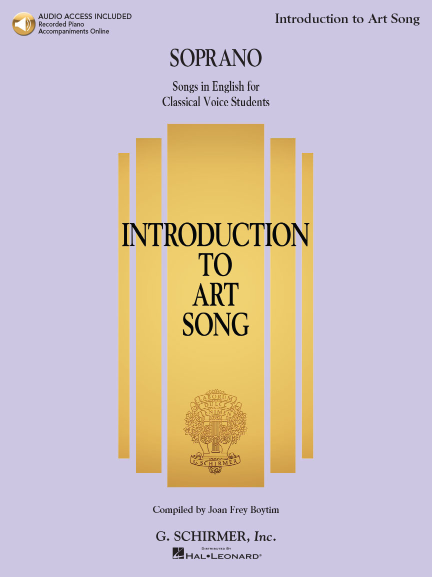 Product Cover for Introduction to Art Song for Soprano
