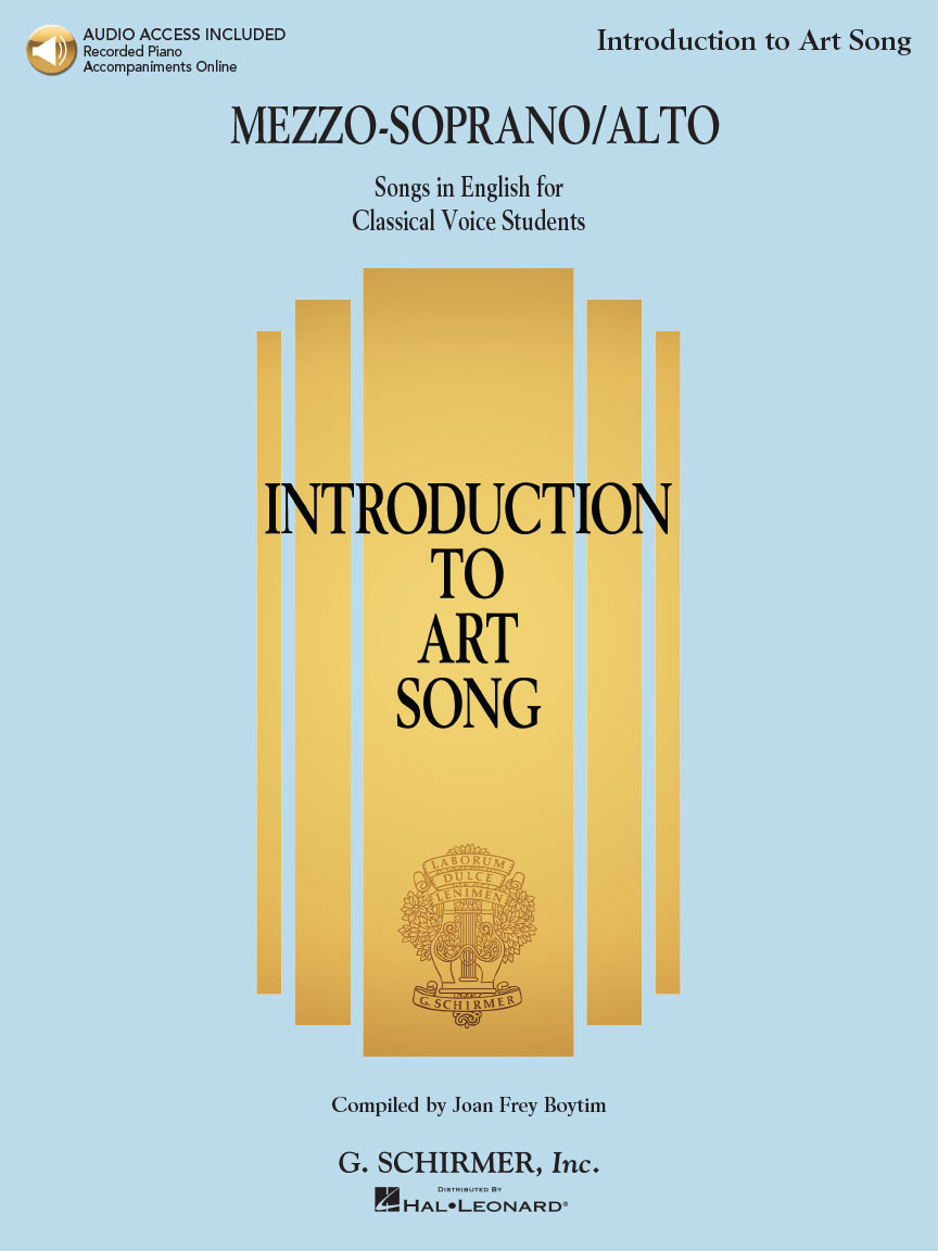 Product Cover for Introduction to Art Song for Mezzo-Soprano/Alto