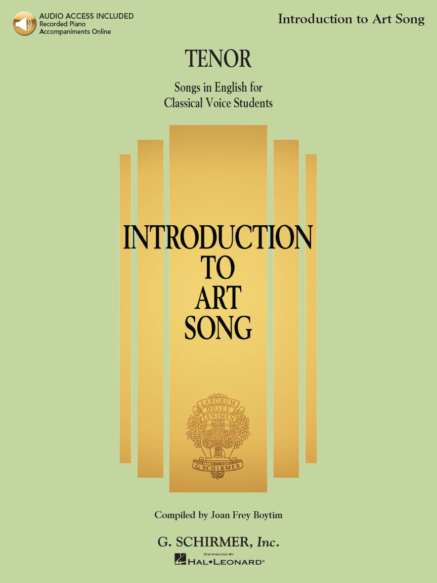 Product Cover for Introduction to Art Song for Tenor