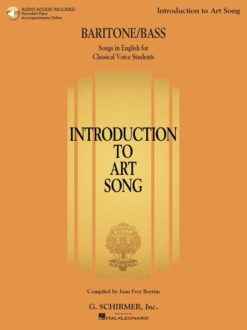 Product Cover for Introduction to Art Song for Baritone/Bass