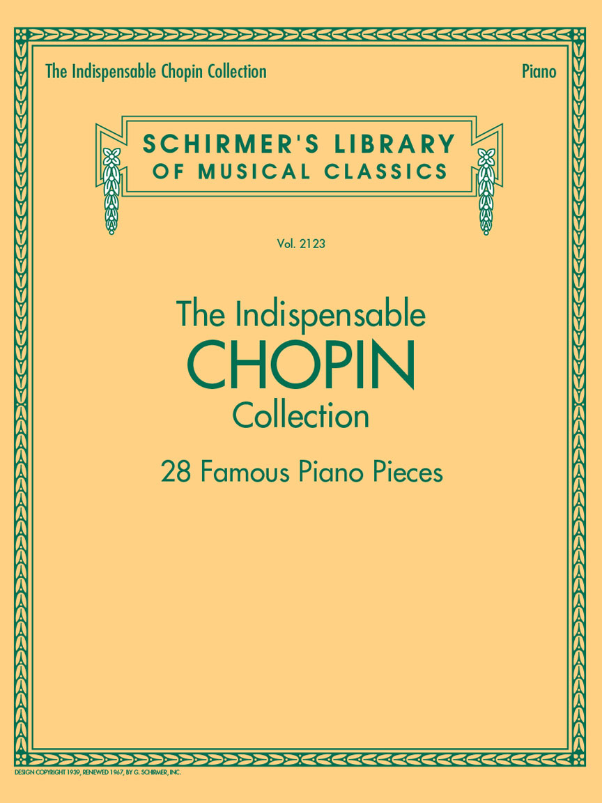 Product Cover for The Indispensable Chopin Collection – 28 Famous Piano Pieces