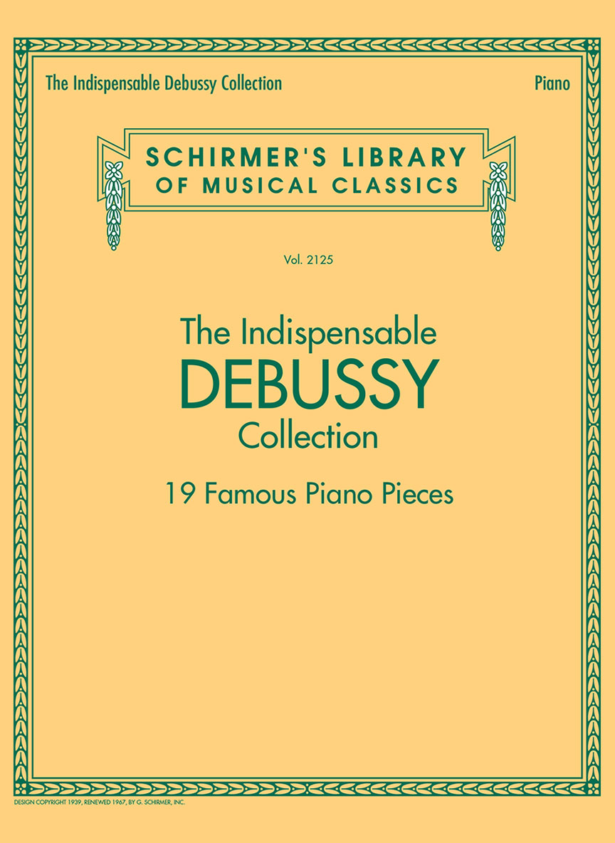 Product Cover for The Indispensable Debussy Collection – 19 Favorite Piano Pieces