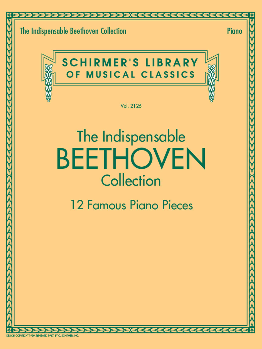 Product Cover for The Indispensable Beethoven Collection – 12 Famous Piano Pieces