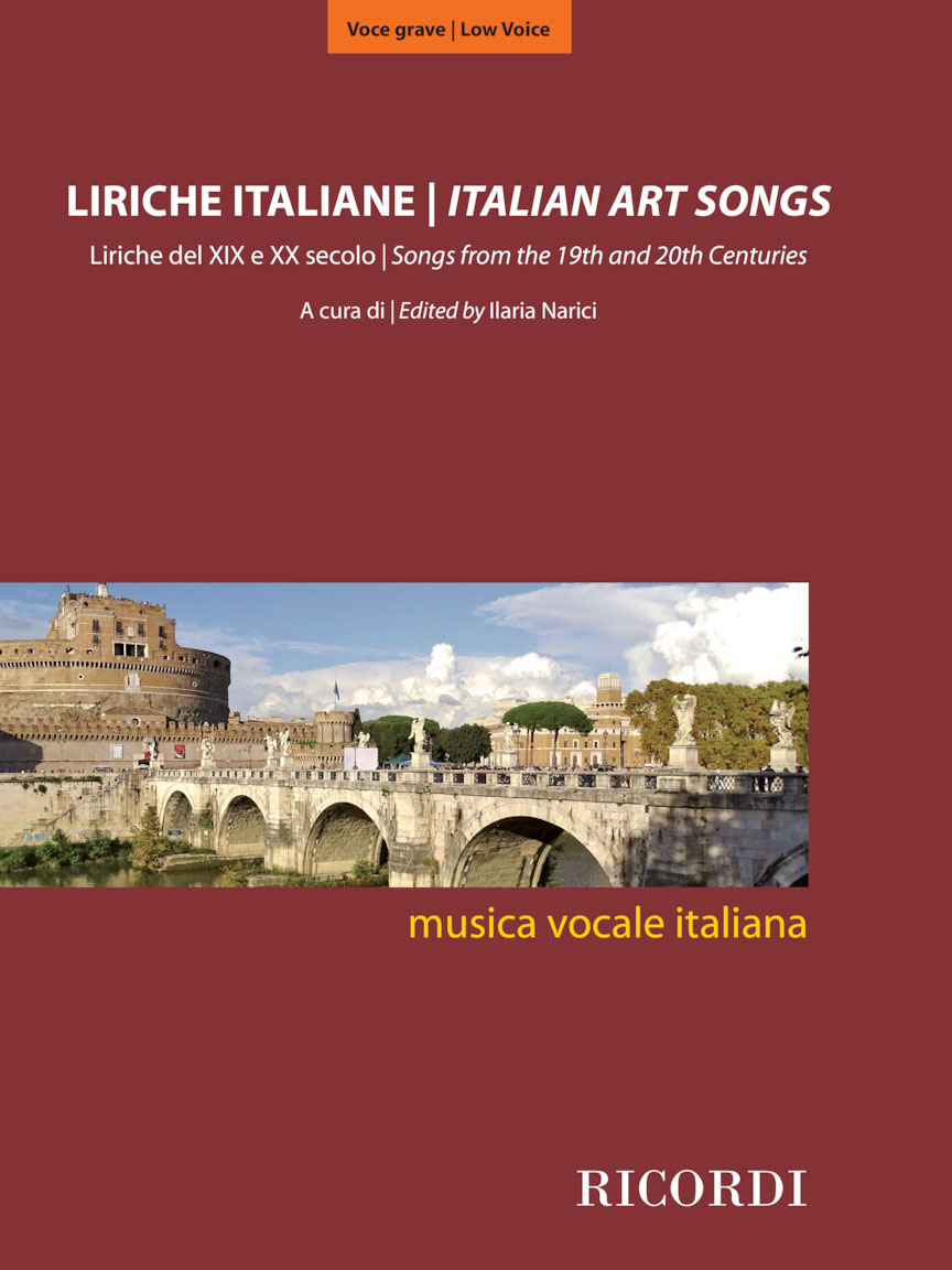 Product Cover for Italian Art Songs