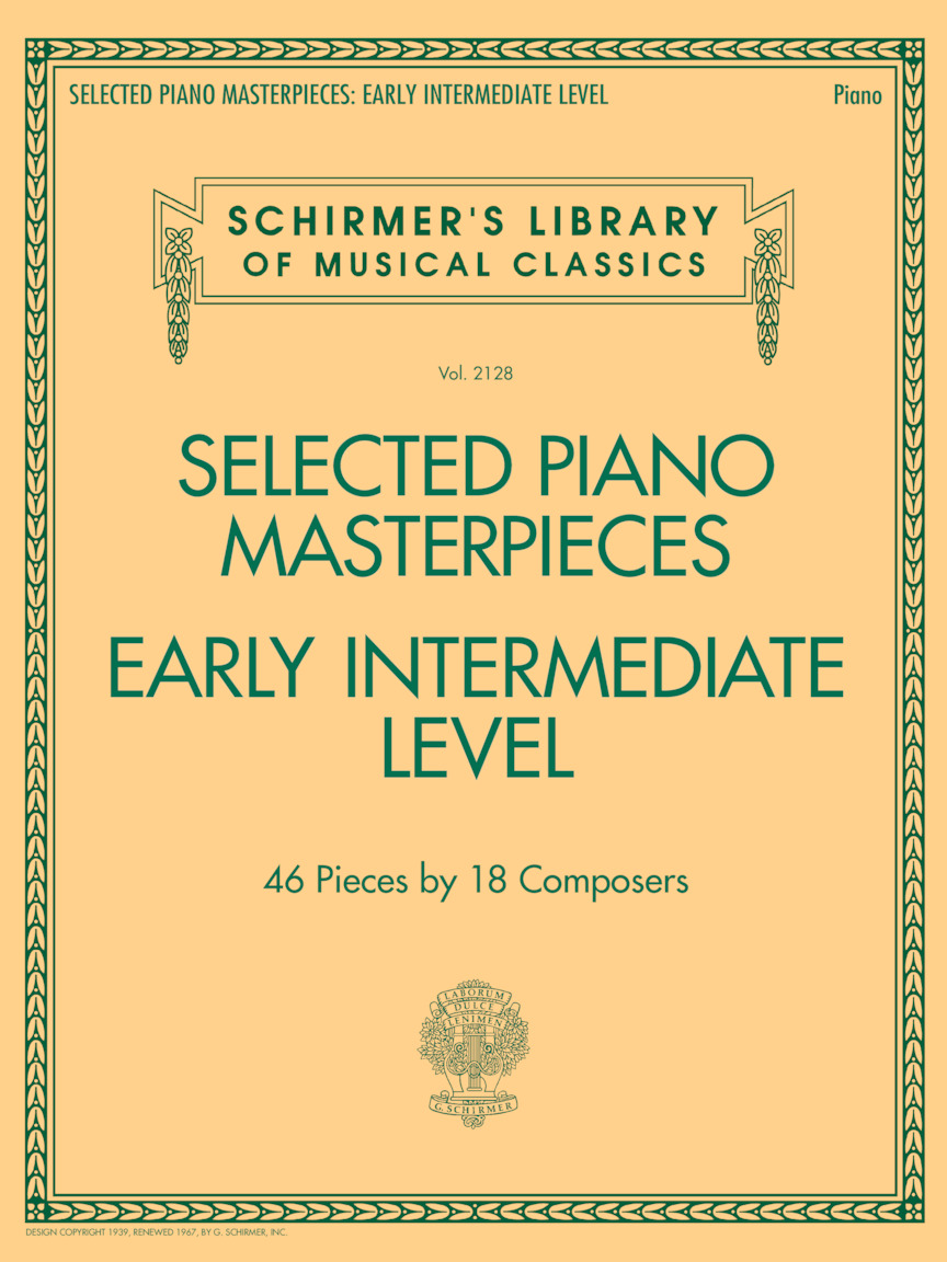 Product Cover for Selected Piano Masterpieces – Early Intermediate Level