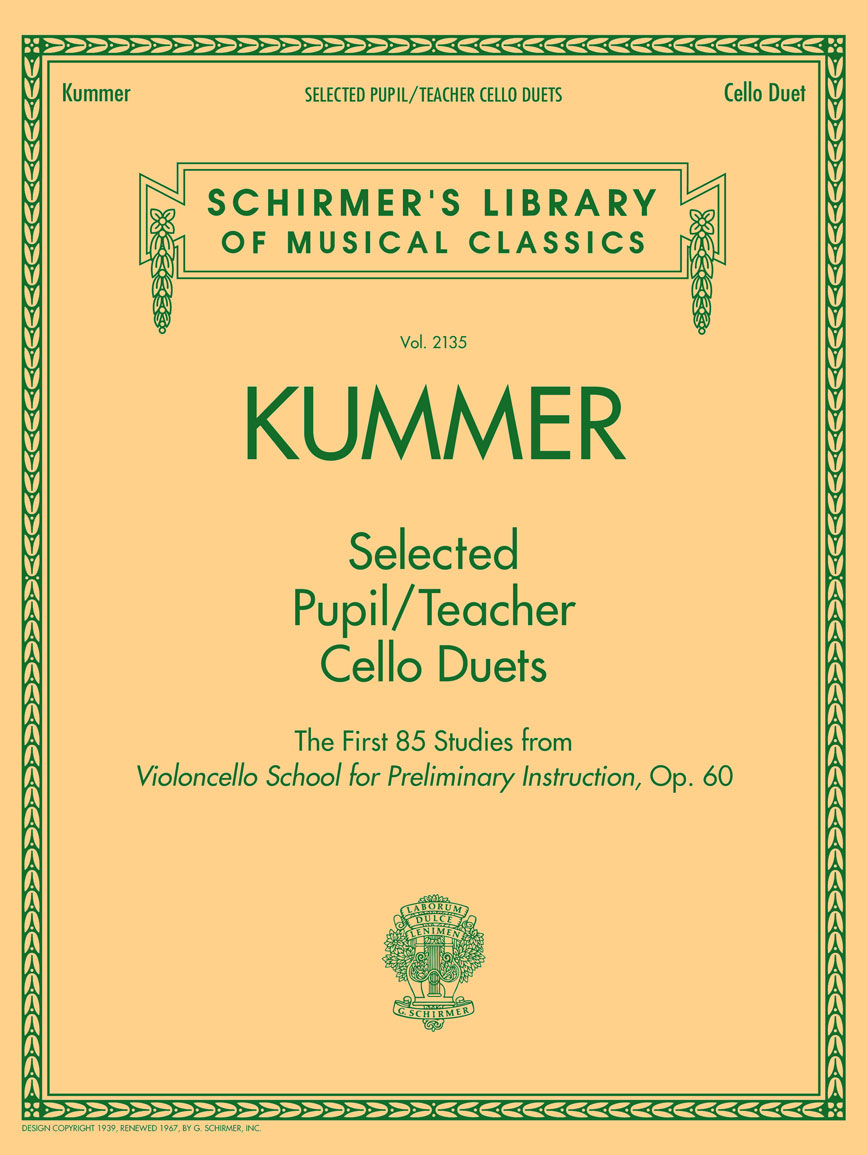 Product Cover for Selected Pupil/Teacher Cello Duets