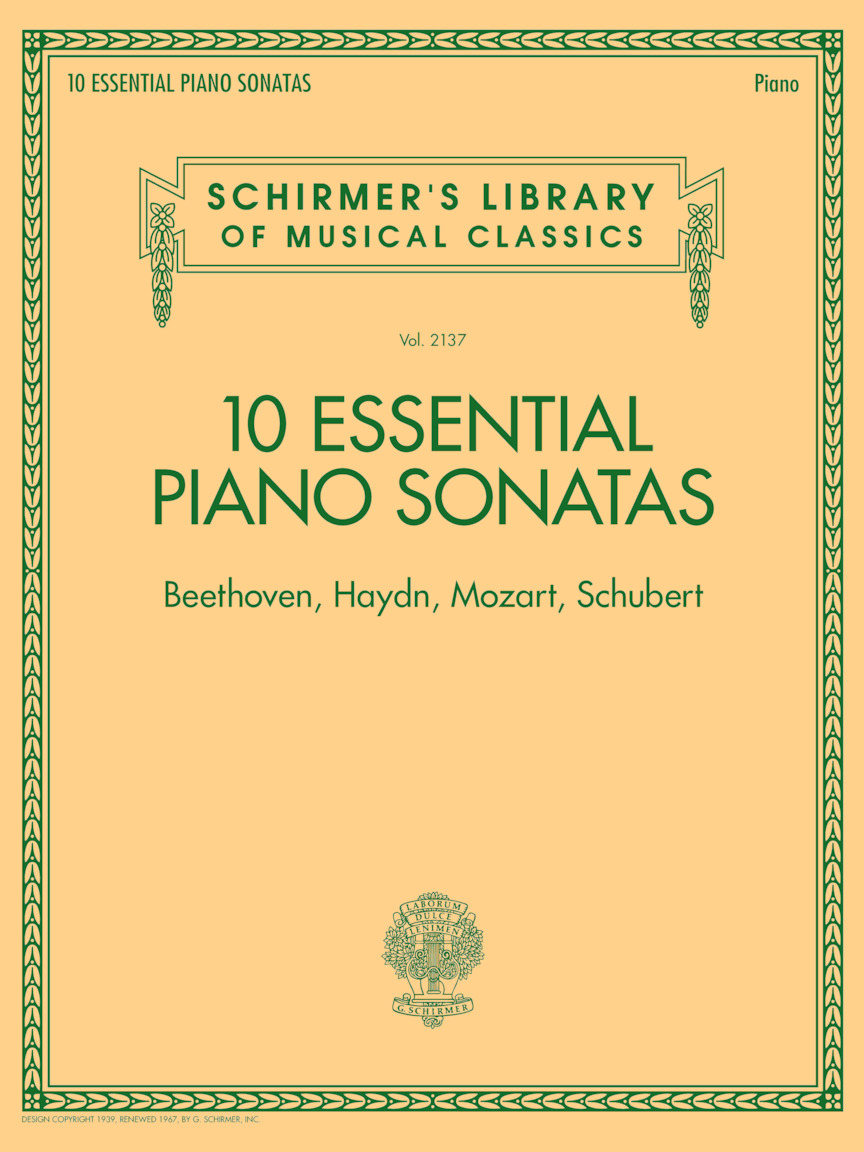 Product Cover for 10 Essential Piano Sonatas – Beethoven, Haydn, Mozart, Schubert