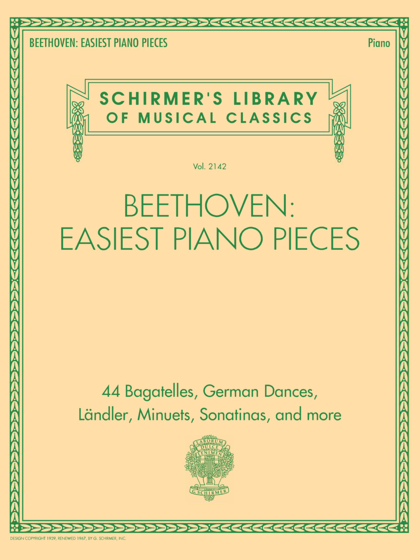 Beethoven Easiest Piano Pieces