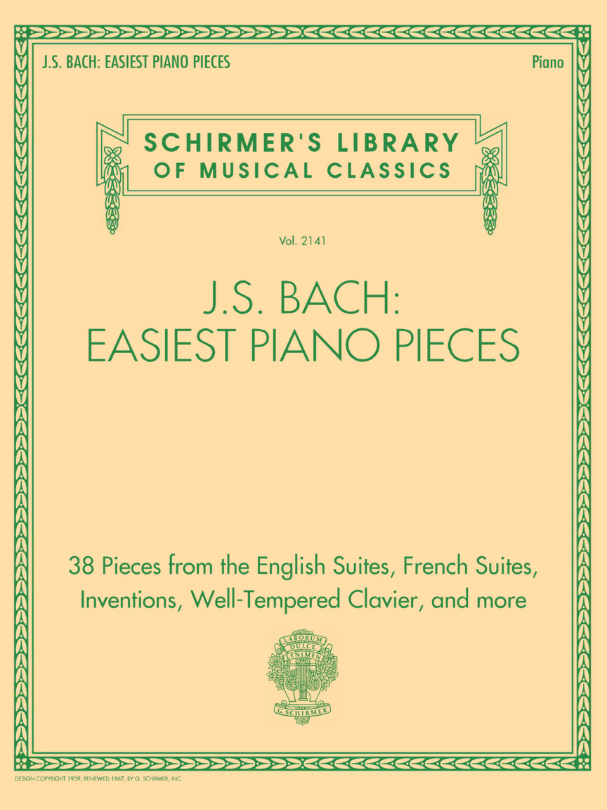 J.S. Bach: Easiest Piano Pieces