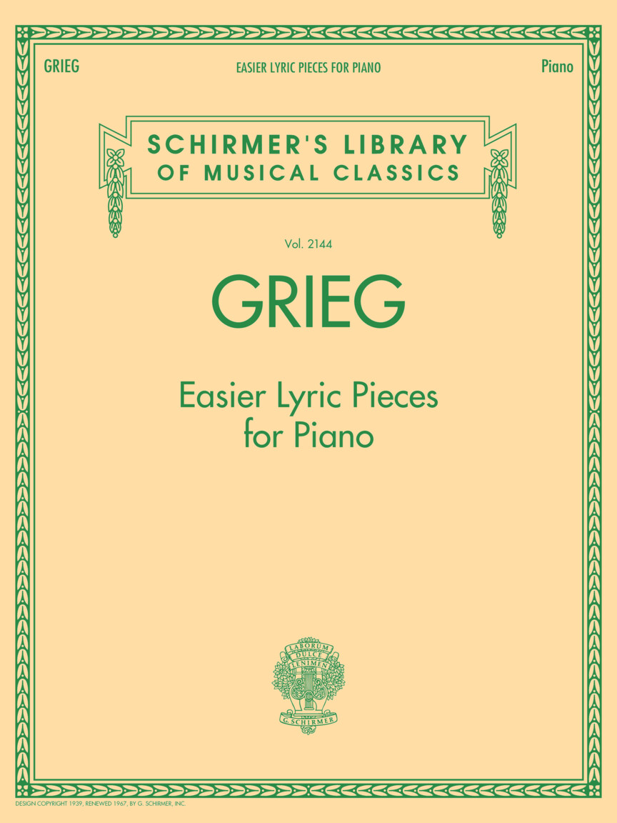Product Cover for Grieg – Easier Lyric Pieces for Piano