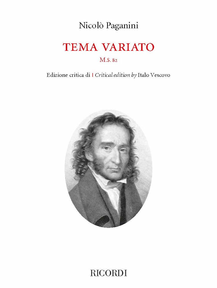Product Cover for Tema Variato M.S. 82