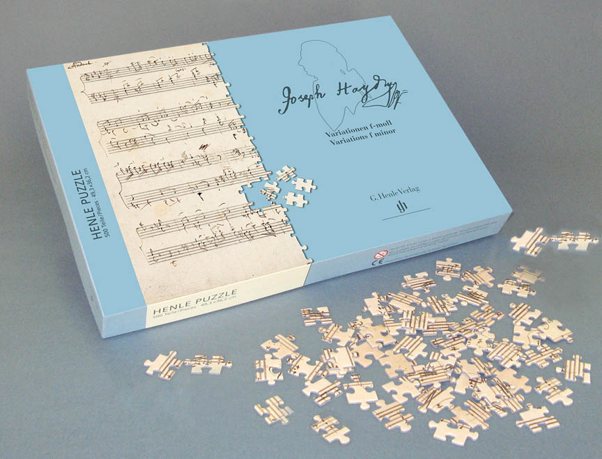 Product Cover for Puzzle – Haydn Variations F minor, Hob. XVII:6