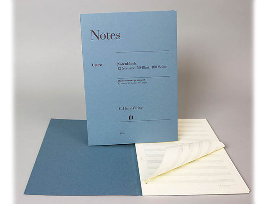 Product Cover for Henle Music Manuscript Notepad